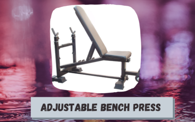 Adjustable Bench Press Price,Types and Manufacturers in India