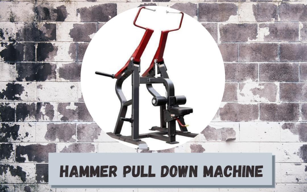 Hammer Pull Down Machine